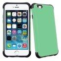 ANTICHOCIP655VERT - Coque hybride bi-matières anti-choc pour iPhone 6 Plus coloris vert