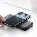 BASEUS-10000M36NOIR - Batterie Baseus noir 10000 mAh avec charge sans fil induction