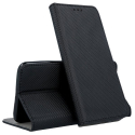 BOOKX-MIA3NOIR - Etui Xiaomi Mi-A3 rabat latéral fonction stand coloris noir