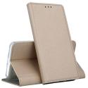 BOOKX-NOTE9T5GGOLD - Etui Xiaomi Redmi Note 9T (5G) rabat latéral fonction stand coloris gold