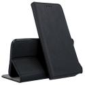 BOOKX-REDMINOTE7 - Etui Xiaomi Redmi Note 7 rabat latéral fonction stand coloris noir