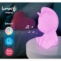BTSUNICORNBBC - Enceinte bluetooth Licorne lumineuse multicolor 15W avec télécommande