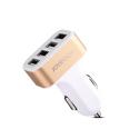 CAC-4USBGOLD - Chargeur allume cigare 4 prises USB puissant 4.2 ampères