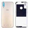 CACHE-VIEW4LITEGOLD - Cache batterie (dos) origine Wiko View 4 Lite coloris gold