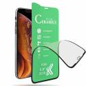 CERAMIC-A12 - Film protecteur écran intégral 3D en céramique incassable Galaxy-A12 contour noir