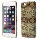 COVSERPENTIP655JAUNE - Coque arrière aspect serpent en relief iPhone 6s Plus coloris jaune