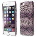 COVSERPENTIP655VIO - Coque arrière aspect serpent en relief iPhone 6s Plus coloris violet