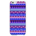 CRYSIP6PLUSAZTEQUEBLEUVIO - Coque rigide pour Apple iPhone 6 Plus avec impression Motifs aztèque bleu et violet