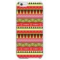 CRYSIP6PLUSAZTEQUEJAUROU - Coque rigide pour Apple iPhone 6 Plus avec impression Motifs aztèque jaune et rouge