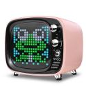 DIVOOM-TIVOOP - Enceinte sans fils Divoom TIVOO rose avec écran Pixel Art