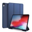 DUX-OSOMIPAD12918BLEU - Etui iPad 12.9 (2018) bleu avec coque intérieure souple et emplacement stylet