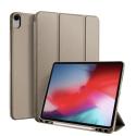 DUX-OSOMIPAD12918GOLD - Etui iPad 12.9 (2018) gold avec coque intérieure souple et emplacement stylet