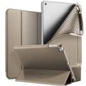 DUX-OSOMIPAD18GOLD - Etui iPad 2018 gold Dux OSOM avec coque intérieure souple et rabat articulé