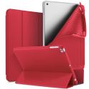 DUX-OSOMIPAD18ROUGE - Etui iPad 2018 rouge Dux OSOM avec coque intérieure souple et rabat articulé