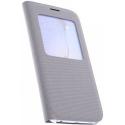 EFCG920GRISTEXTILESVIEW - Etui origine Samsung SVIEW Galaxy S6 Gris textile