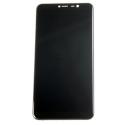 FACE-WIKOY80NOIR - Vitre et écran LCD Wiko Y60 coloris noir sur chassis