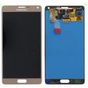FACEAV-NOTE4GOLD - Ecran origine Samsung Galaxy Note 4 coloris gold