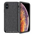 FAIRPLAY-ALTAIRIP11 - Coque antichoc FairPlay Altair iPhone 11 noir et textile gris