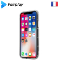 FAIRPLAY-CAPELLAIPXR - Coque Capella iPhone XR transparente avec contour à coussins d'air