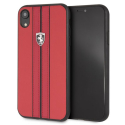 FEURHCI61REB - Coque Ferrari iPhone XR collection Off-Track rouge