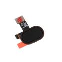 FLEX-MOTOE4NOIR - Nappe bouton Home Moto-E4 coloris noir