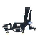 FLEXDOCK-IP11NOIR - Nappe iPhone 11 Connecteur de charge Lightning et microphone