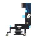 FLEXDOCK-IPXRNOIR - Nappe iPhone XR Connecteur de charge Lightning et microphone