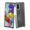 FP-GEMINIA72 - Coque antichoc Samsung Galaxy A72 Gemini transparente et noir antichoc