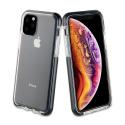 FP-GEMINIIP11 - Coque antichoc iPhone 11 Gemini transparente et noir antichoc