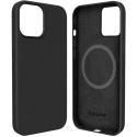 FP-SIRIUSIP13 - Coque souple Soft-Touch iPhone 13 coloris noir mat avec fonction MagSafe
