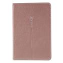 GEBEI-MINI4ROSE - Etui Stand iPad-Mini 4 rabat latéral coloris rose fonction stand