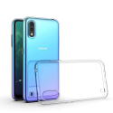 GEL-A01TRANS - Coque souple Galaxy-A01 en gel flexible et enveloppant transparent