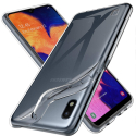 GEL-A10TRANS - Coque souple Galaxy-A10 en gel flexible et enveloppant transparent