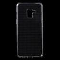 GEL-A82018TRANS - Coque souple Galaxy A8-2018 gel TPU flexible transparent