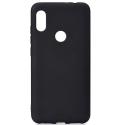 GEL-Y6SNOIR - Coque souple Huawei Y6s coloris noir mat