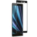GLASS3D-X10NOIR - Verre trempé intégral 3D pour Sony Xperia-10 contour noir