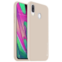 GOOSP-A40GOLD - Coque souple Galaxy-A40 en gel TPU gold iJelly de Goospery