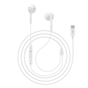 HOCO-L10 - Ecouteurs Hoco intra-auriculaires Type-C coloris blanc
