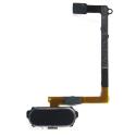 HOME-S6NOIR - Nappe et bouton Home Galaxy S6 noir