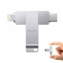 IDISKK-32GUSBC - Clé stockage mémoire iDiskk 32 Go iPhone iOS et USB-C