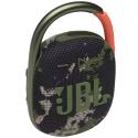 JBL-CLIP4SQUAD - Enceinte tout terrain JBL Clip 4 coloris camouflage avec mousqueton métallique