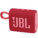 JBLGO3RED - Enceinte bluetooth JBL Go-3 coloris Red touches roses étanche 5 heures de musique