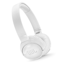 JBLT600BTBLANC - Casque bluetooth JBL T600BT blanc à suppression de bruit ambiant
