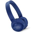 JBLT600BTBLEU - Casque bluetooth JBL T600BT bleu à suppression de bruit ambiant