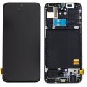 LCD-A40NOIR - Ecran complet origine Samsung Galaxy A40 coloris noir GH82-19672A