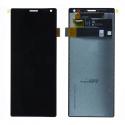 LCD-XPERIA10 - Ecran complet vitre tactile + LCD pour Xperia 10 coloris noir origine Sony