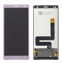 LCD-XZ2ROSE - Ecran complet vitre tactile + LCD Xperia XZ2 Rose origine Sony