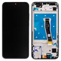 LCDCHAS-HONOR10LITENOIR - Ecran complet Honor 10 Lite Vitre tactile + LCD sur châssis noir