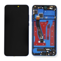LCDCHASSIS-HONOR8XBLEU - Ecran complet assemblé sur chassis Honor 8X Vitre tactile + LCD coloris bleu