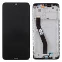 LCDCHASSIS-REDMI8 - Ecran complet Xiaomi Redmi 8/8A sur chassis coloris noir